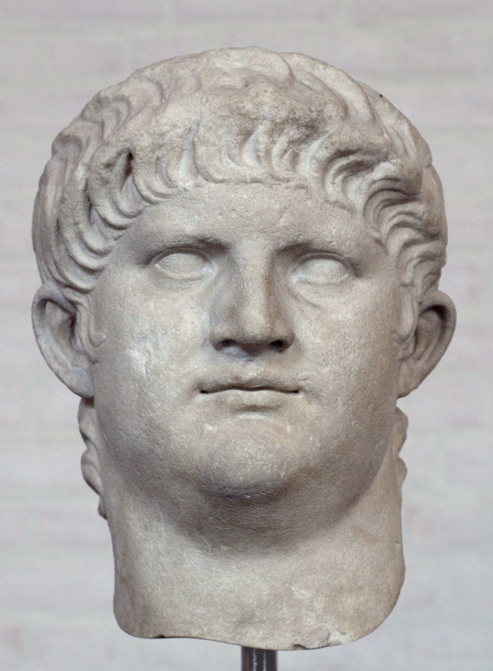 Bust of Nero at the Glyptothek Museum in Munich. Article 321. Notice the same layered hairstyle. Dated to 64-68 CE.